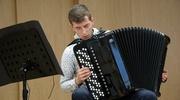 Koncert Pawła Ratajka na rozpoczęcie Malborskich Warsztatów Akordeonowych