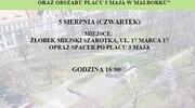 Burmistrz zaprasza na konsultacje społeczne dotyczące zagospodarowania pl. 3 Maja