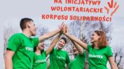 """Konkurs na """"Mini granty na inicjatywy wolontariackie Korpusu Solidarności"""""""