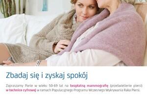 Darmowa mammografia dla kobiet w Malborku