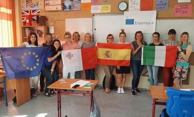 Erasmus + . Nauczyciele malborskiej piątki przygotowani do wyjazdów na kursy zagraniczne
