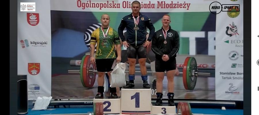 Wojciech Kuligowski na podium