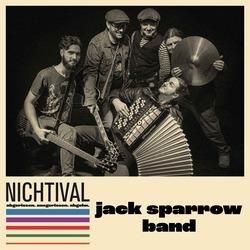 muzycy zespołu Jack Sparrow Band z instrumentami