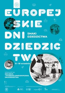 plakat z nazwą Europejskie Dni Dziedzictwa