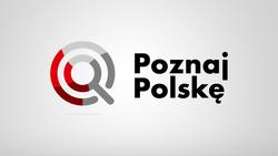grafika z napisem Poznaj Polskę
