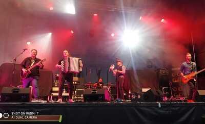 Jack Sparrow Band zagrał na festiwalu w partnerskim Monheim