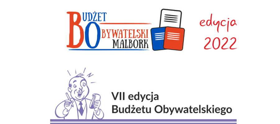 grafika z informacją o Budżecie Obywatelskim 2022
